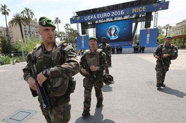 Seguridad antidrones Eurocopa